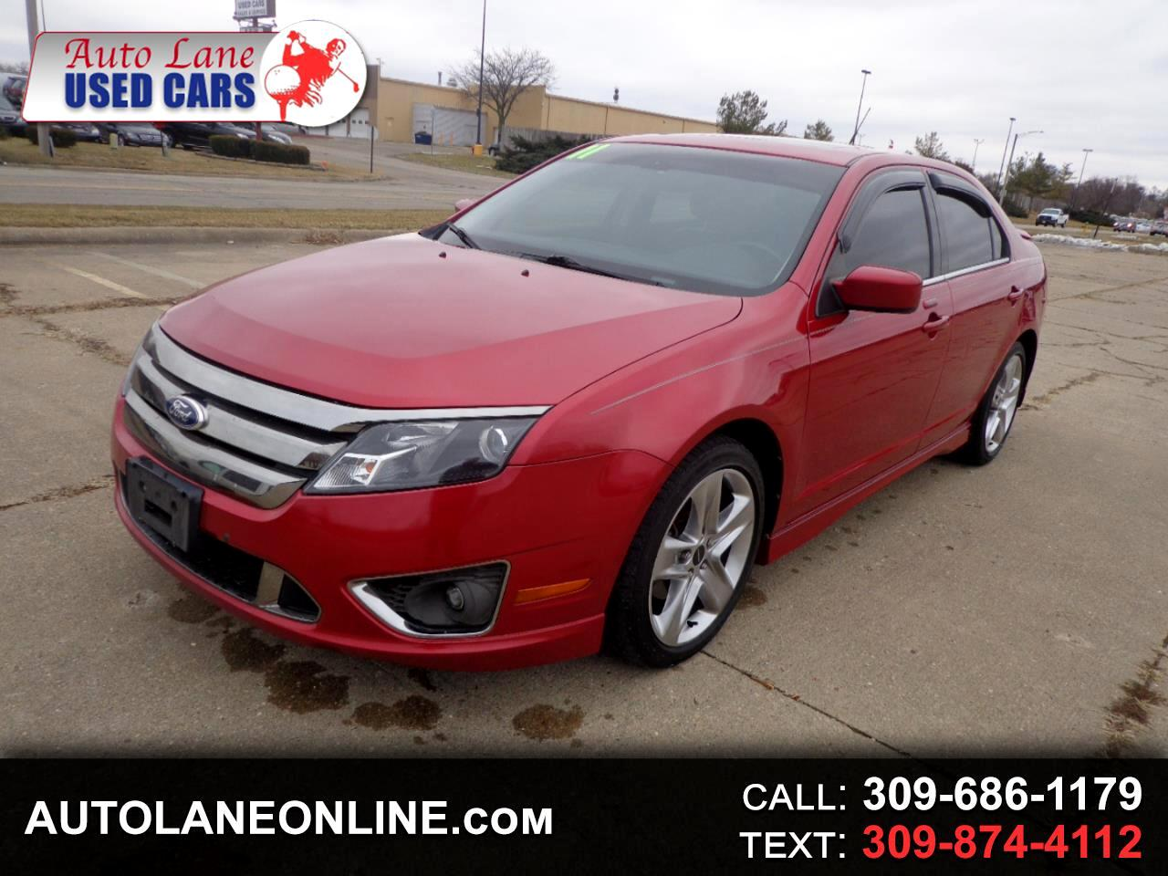 Ford Fusion 4dr Sdn SPORT FWD 2011