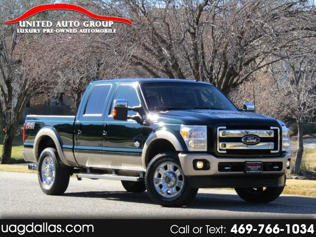 "2013 Ford F-250 SD 4WD Crew Cab 156"" King Ranch"