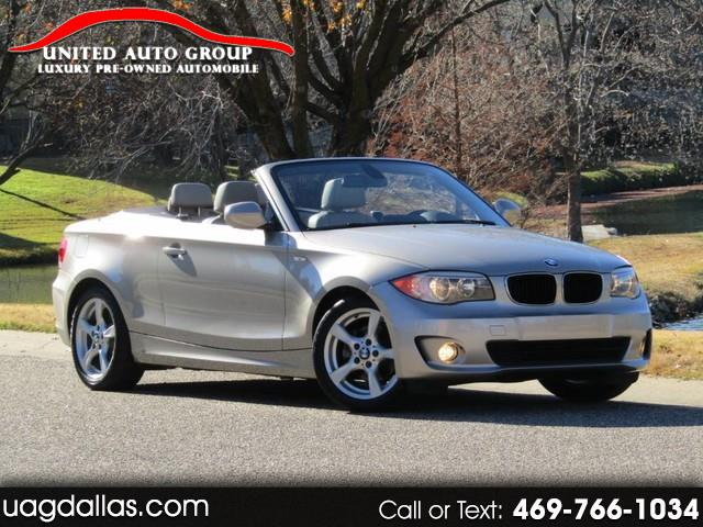 2012 BMW 1-Series 2dr Conv 128i