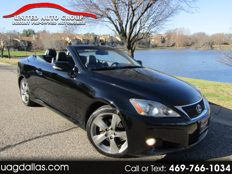 Lexus IS 250C 2dr Conv Auto 2010