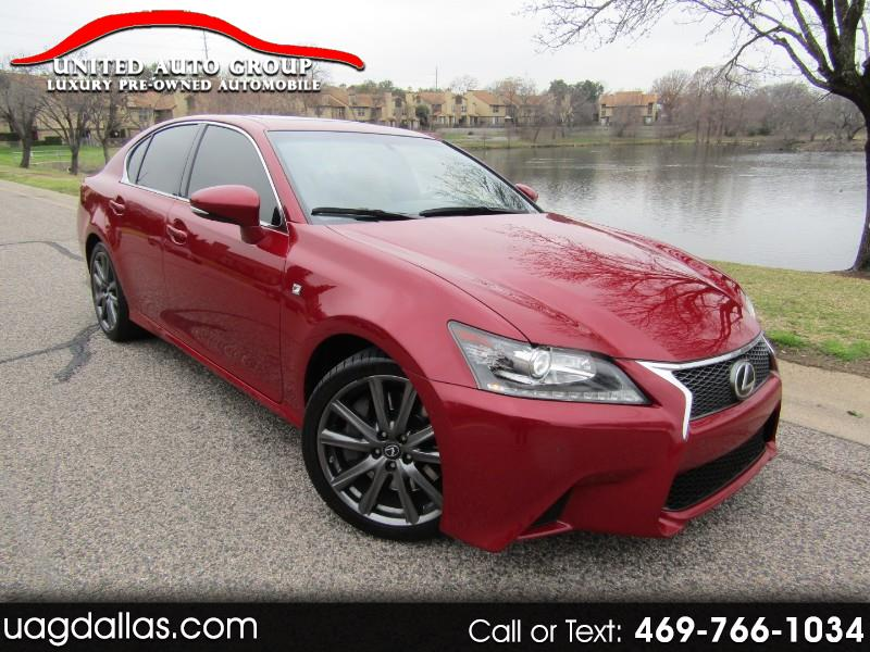 Lexus GS 350 4dr Sdn Crafted Line RWD 2015
