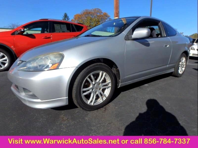 Acura RSX Coupe with 5-speed AT and Leather 2006