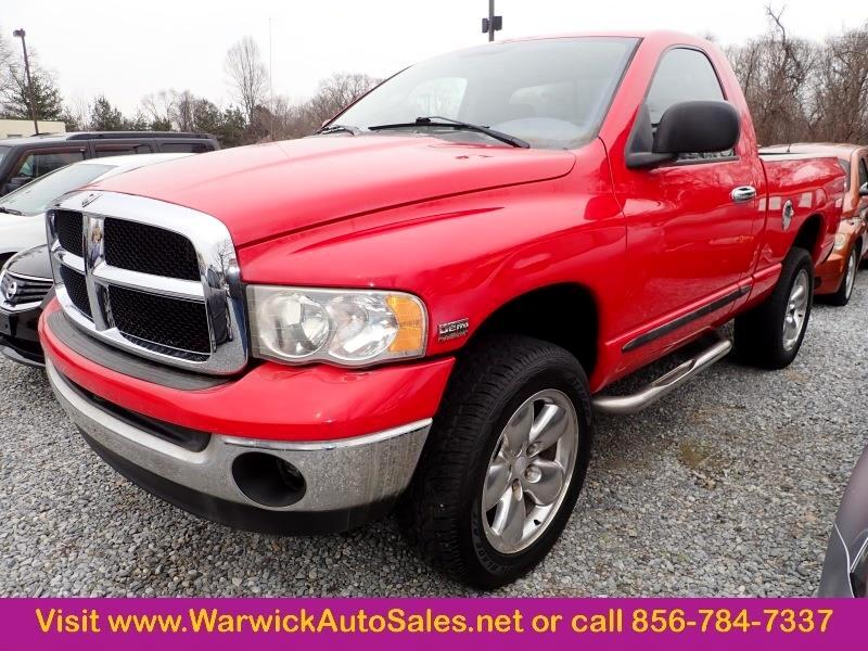 Dodge Ram 1500 SLT Short Bed 4WD 2005