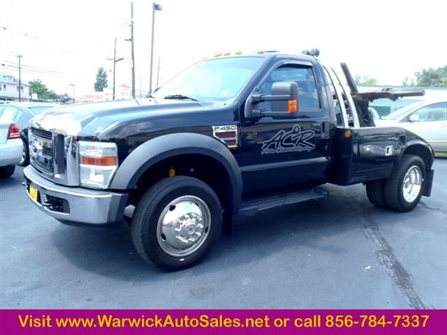 2008 Ford Super Duty F-450 DRW XLT TOW TRUCK