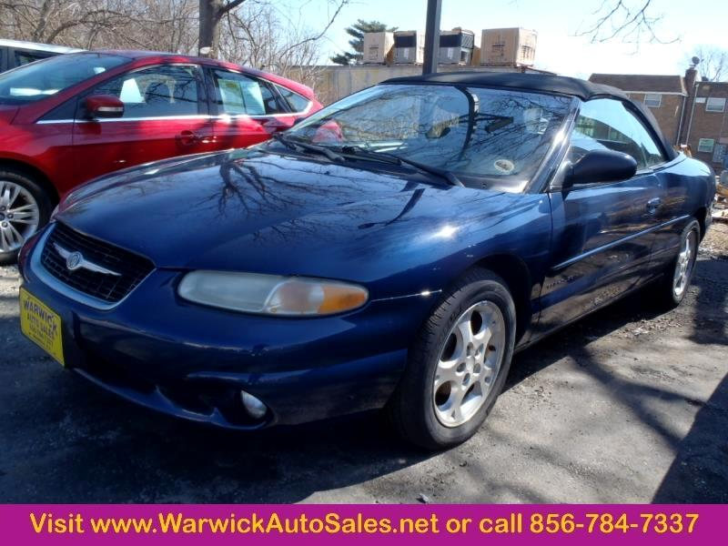 2000 Chrysler Sebring 2 Dr JXi Convertible