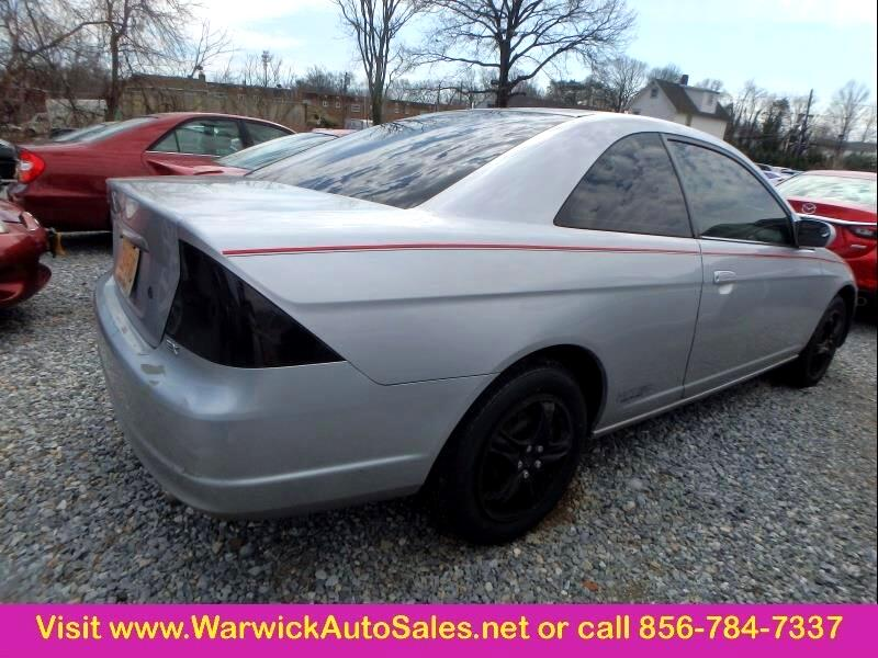 2001 Honda Civic 2 Dr EX Coupe