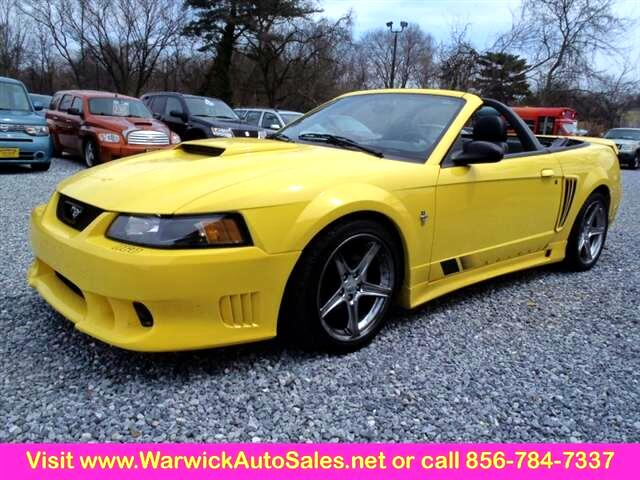 2001 Ford Mustang 2 Dr Saleen Convertible