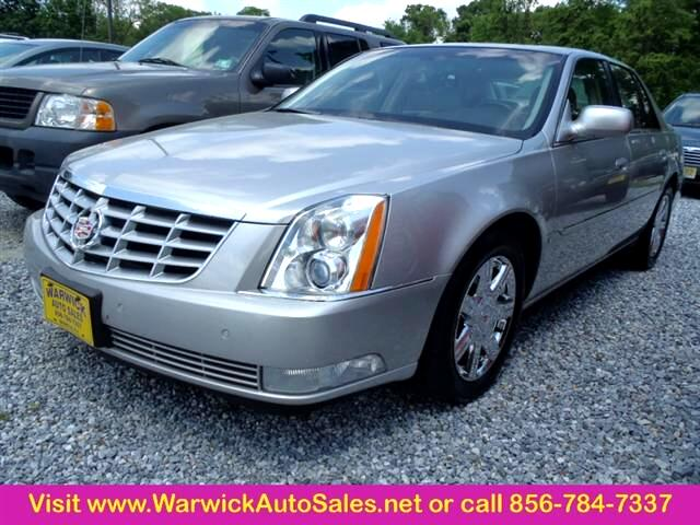 2007 Cadillac DTS Luxury 4dr Sedan