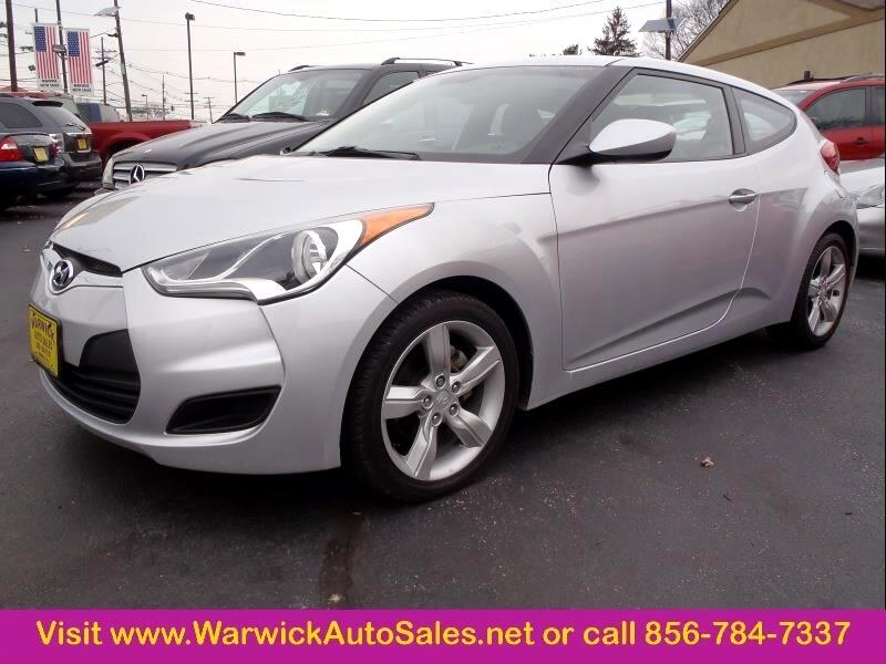 2012 Hyundai Veloster 3dr Coupe w/Gray Seats