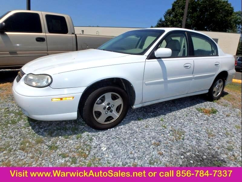2003 Chevrolet Malibu LS 4dr Sedan