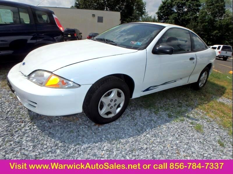 2001 Chevrolet Cavalier 2dr STD Coupe