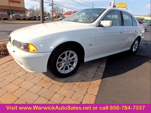 2003 BMW 5 Series 525i 4dr Sedan