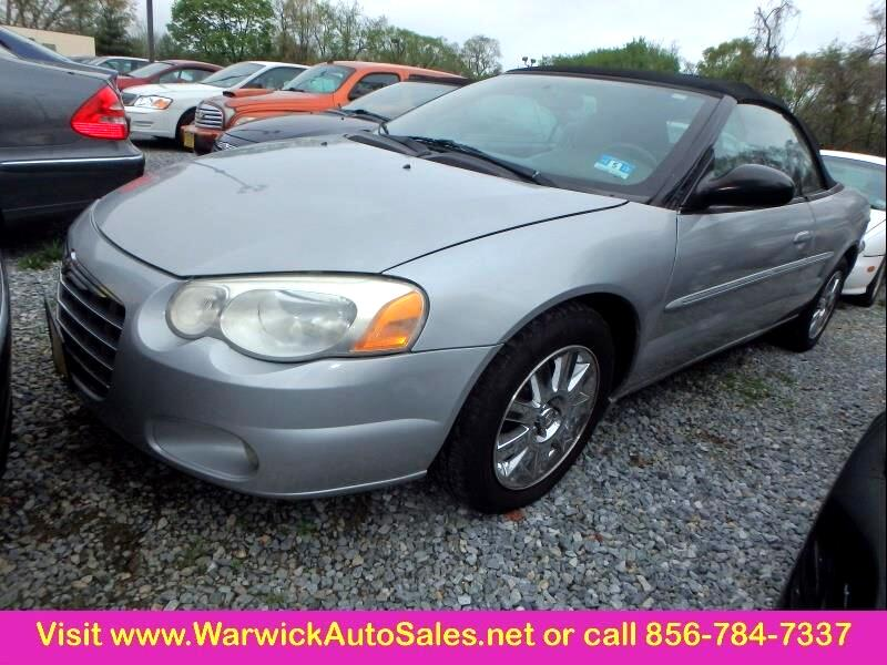 2005 Chrysler Sebring Limited 2dr Convertible