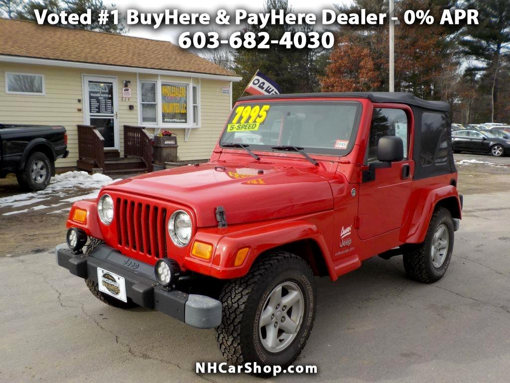 2005 Jeep Wrangler Willys Edition 4WD