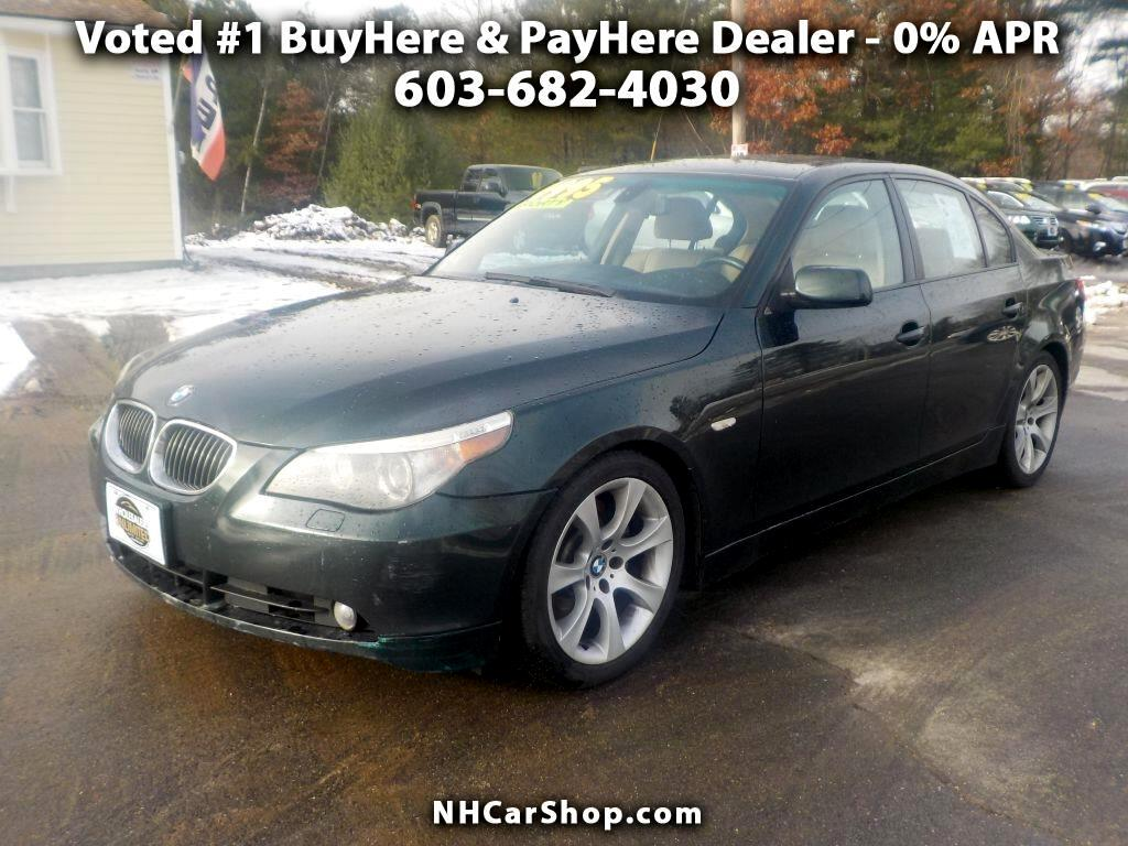 2004 BMW 5-Series 545i 6-speed