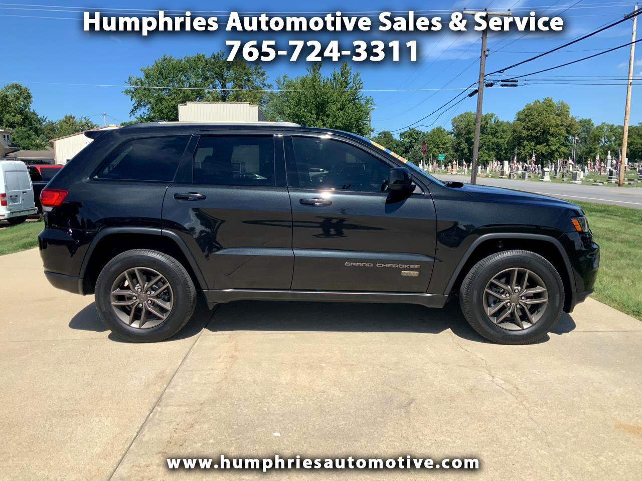 Jeep Grand Cherokee 75th Anniversary Edition 4x4 *Ltd Avail* 2016