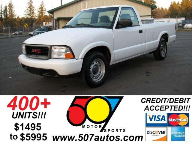 2000 GMC Sonoma SL Reg. Cab Long Bed 2WD