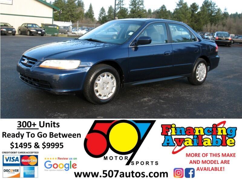 2002 Honda Accord LX sedan