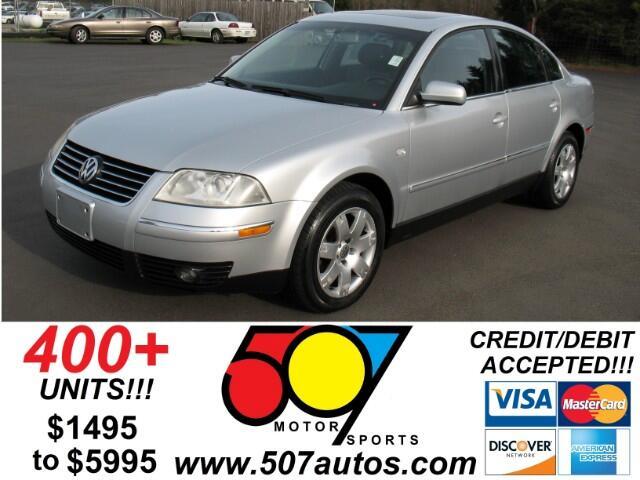 2003 Volkswagen Passat GLX 4 Motion