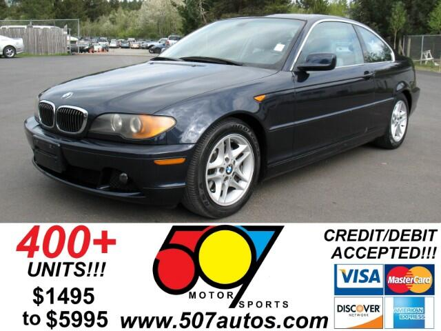 BMW 3-Series 325Ci coupe 2004
