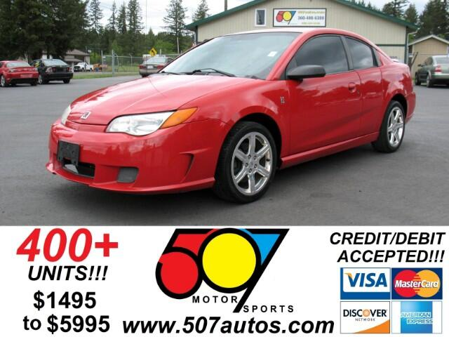 2005 Saturn ION Red Line Quad Coupe