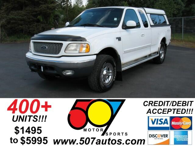 1999 Ford F-150 WS SuperCab Long Bed 4WD