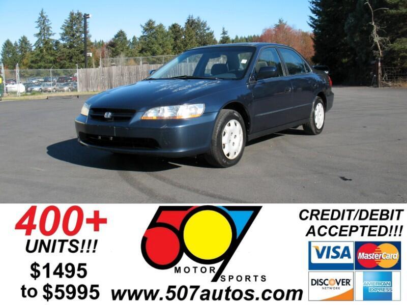 Honda Accord 4dr Sedan EX Auto 2000