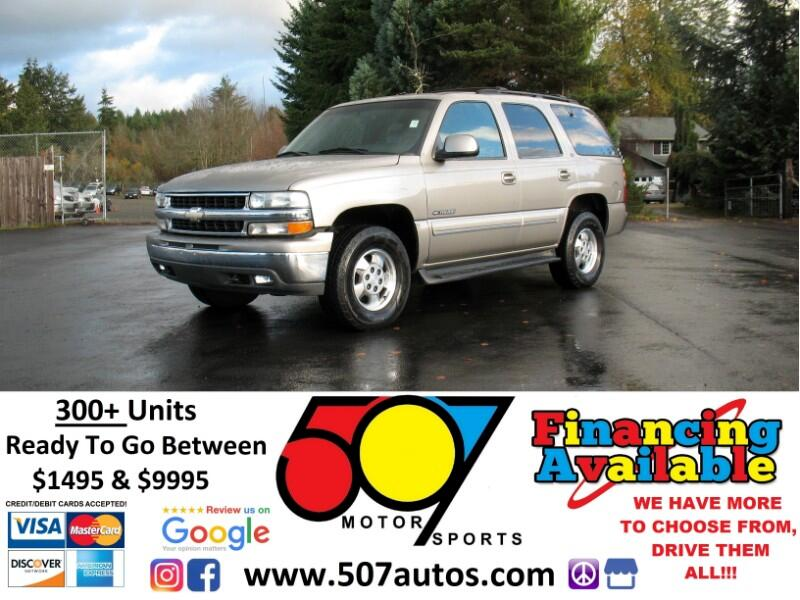2001 Chevrolet Tahoe 4dr 4WD LT