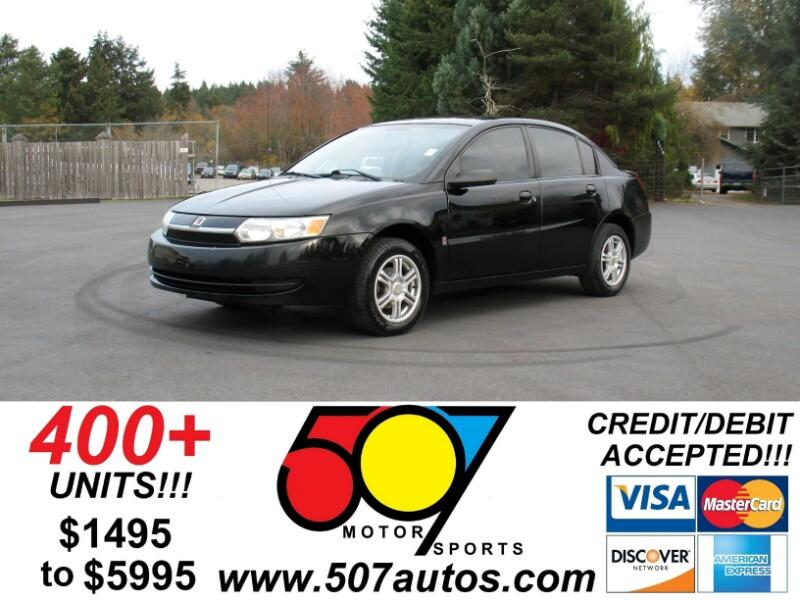 Saturn ION ION 2 4dr Sdn Manual 2004