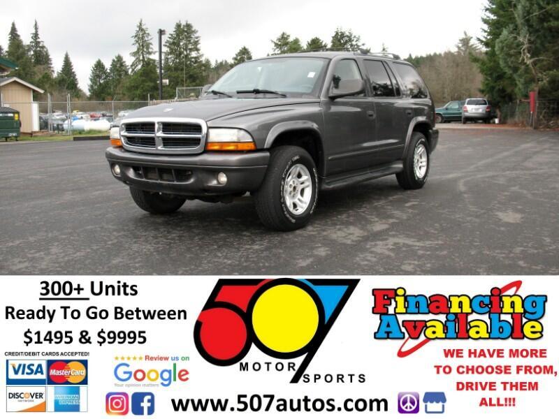 2002 Dodge Durango 4dr 4WD SLT