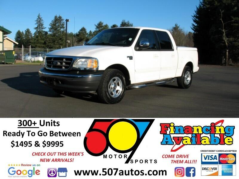 "2002 Ford F-150 2WD SuperCrew 139"" XLT"