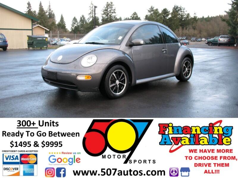 2005 Volkswagen New Beetle Coupe 2dr GL Auto