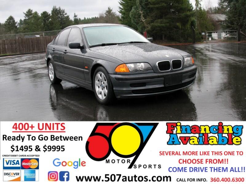 BMW 3 Series 323i 4dr Sdn 2000