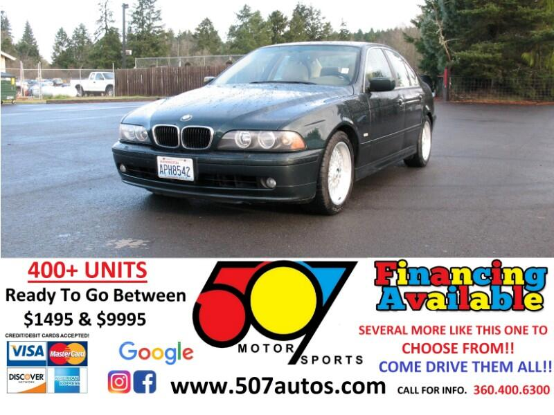 BMW 5 Series 525i 4dr Sdn 5-Spd Manual 2001