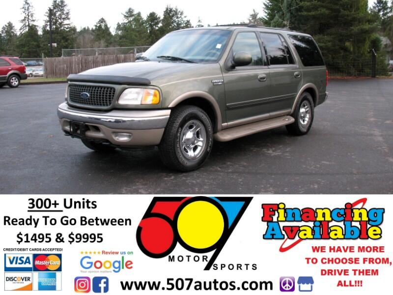 used 2000 ford expedition 119 wb eddie bauer 4wd for sale in roy wa 98580 507 motorsports. Black Bedroom Furniture Sets. Home Design Ideas