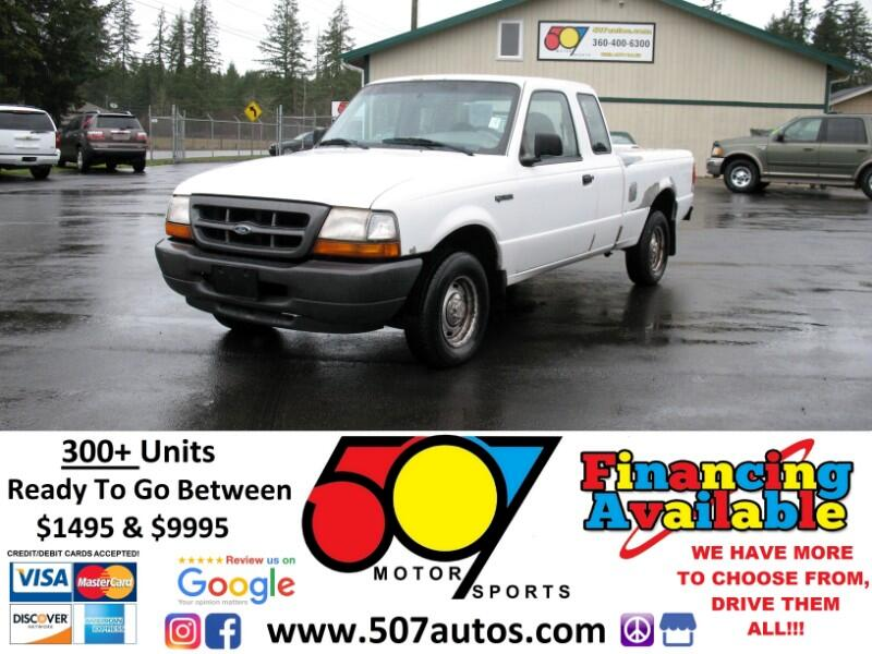 "1999 Ford Ranger Supercab 126"" WB XLT"