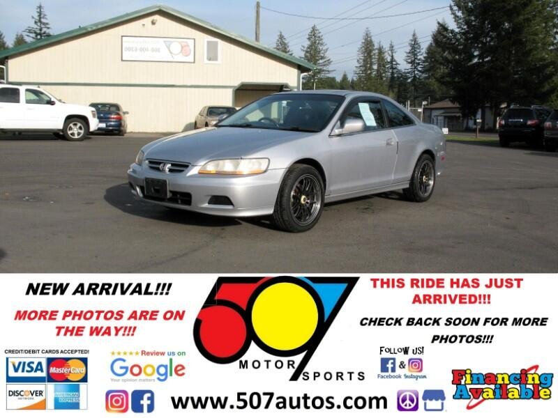 2001 Honda Accord Cpe EX Auto V6 w/Leather