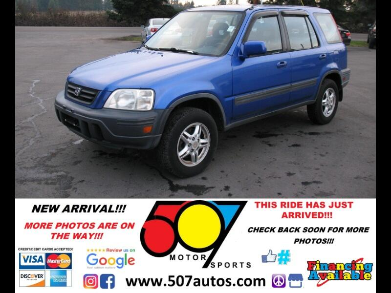 2001 Honda CR-V 4WD EX Manual