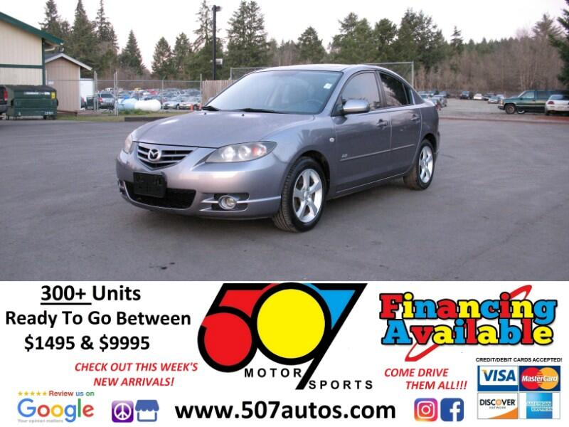 2005 Mazda MAZDA3 4dr Sdn s Auto