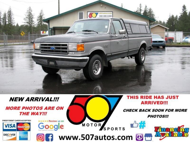 1989 Ford 1/2 Ton Trucks Styleside 117