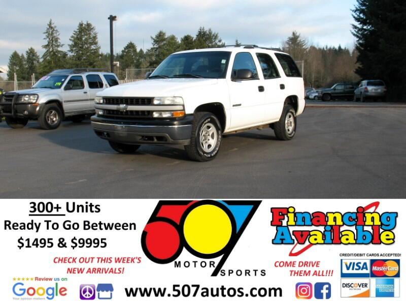 2002 Chevrolet Tahoe 4dr 1500 4WD Commercial
