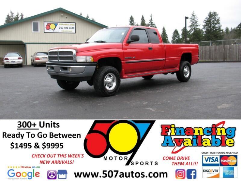 "2000 Dodge Ram 2500 4dr Quad Cab 139"" WB HD 4WD"