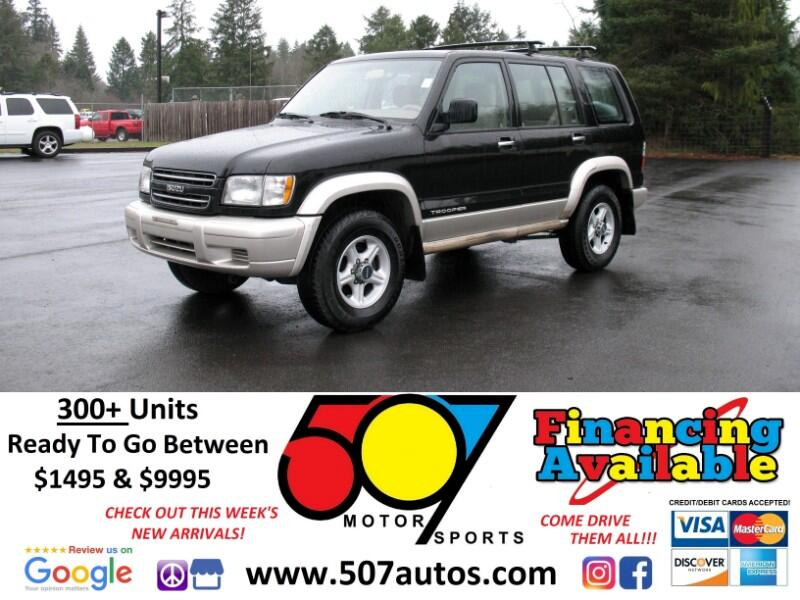 2000 Isuzu Trooper 4dr LTD Auto 4WD