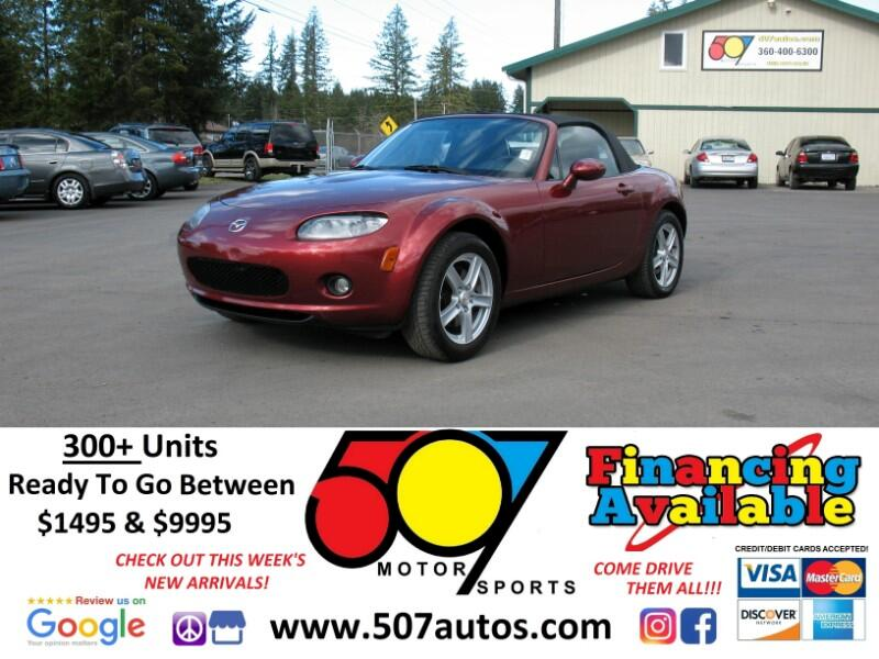 2006 Mazda MX-5 Miata 2dr Conv Touring Manual