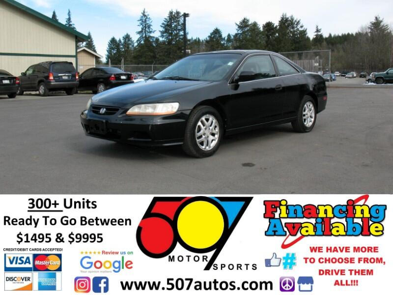 2002 Honda Accord 2dr Coupe Auto EX w/Leather