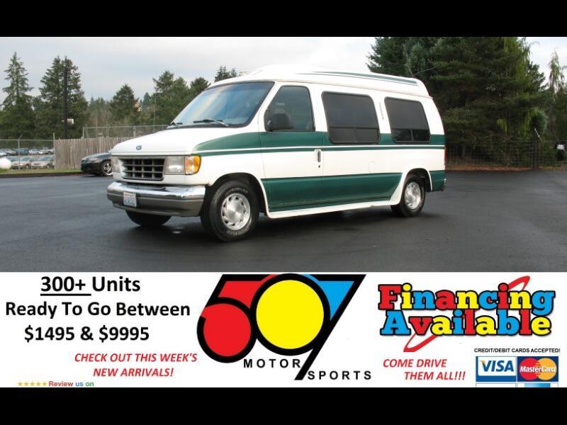 "1994 Ford Econoline Cargo Van E-150 138"" WB"