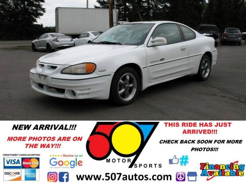2001 Pontiac Grand Am 2dr Cpe GT1