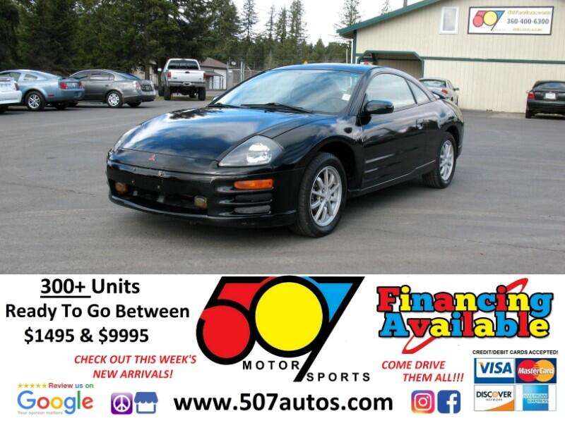 2000 Mitsubishi Eclipse 3dr Cpe GS Manual