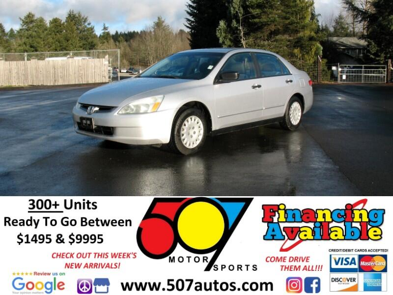 Honda Accord DX 4-Door Sedan 2003