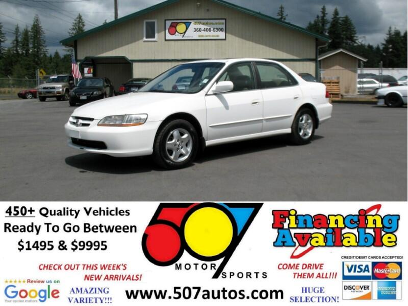 Honda Accord 4dr Sedan Auto EX w/Leather 2000